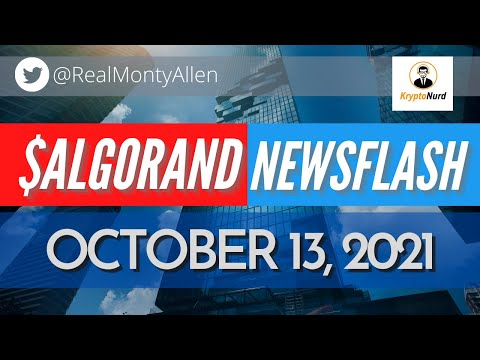 Coinbase NFT Marketplace, Alty adds Algorand, Governance will hit 1 Billion and Decipher tix time!!