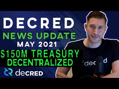 Decred News Update – $150M Stakeholder-Driven DAO Now Live, DCRDEX Coming To Wallet, v1.6.2 & More
