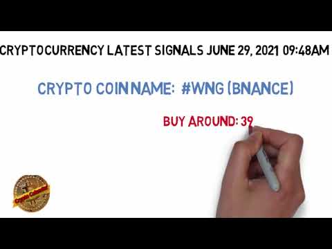 WİNG Binance Cryptocurrency signals June 29, 2021 | Today Crypto Coin News Updates
