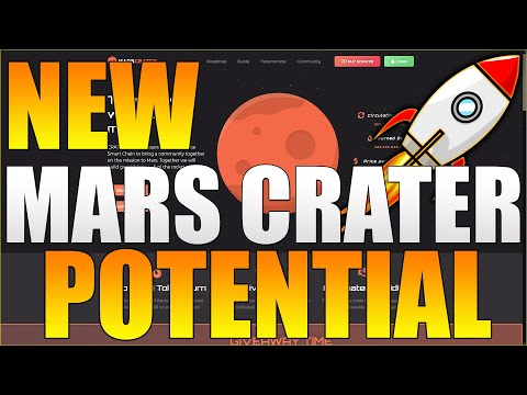 Mars Crater BOOM! Mars CRATER Coin! Huge Potential!
