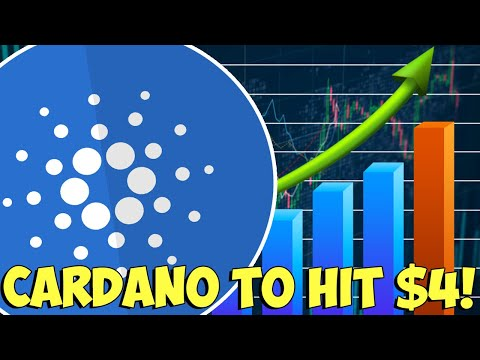 CARDANO PRICE COULD HIT A FRESH HIGHS!! – ADA PRICE TO HIT $4!!