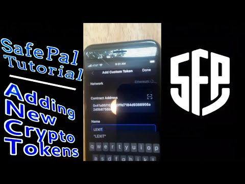 SafePal S1 App Tutorial | How to Add New Custom Tokens To Wallet