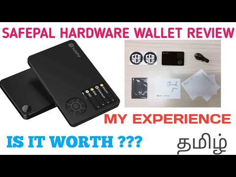 SAFEPAL S1 HARDWARE WALLET REVIEW IN TAMIL | CRYPTO BAN SOLUTION | CRYPTO SAFETY @CRYPTOKUMAR