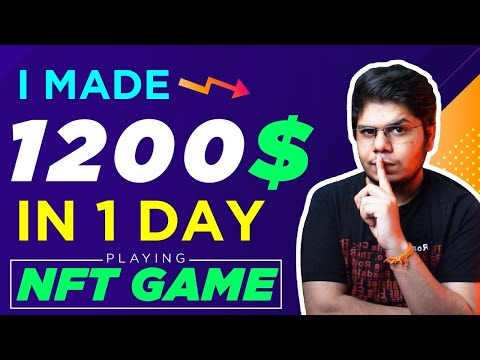I made 1200$ in 1 day playing this NFT game
