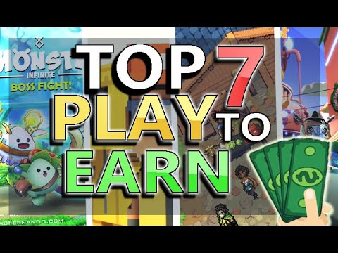 TOP 7 NFT Games In 2021 – 2022! | BEST Crypto Games You Can Play To EARN! $$$