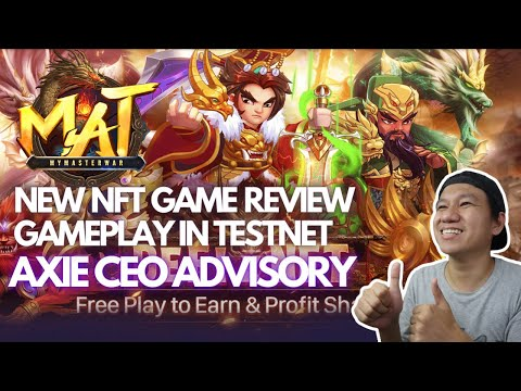 MYMASTERWAR NFT GAME   FREE TO PLAY   PLAY TO EARN   AXIE CEO ADVISORY   STRATEGY GAME (TAGALOG)