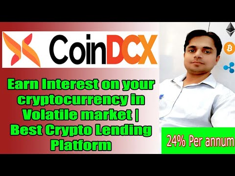 Earn Interest on your cryptocurrency in Volatile market | Best Crypto Lending Platform