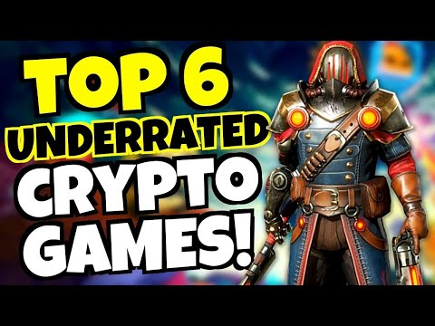 TOP 6 Underrated NFT CRYPTO GAMES! [Play to Earn]