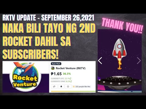 ROCKET VENTURE NFT TUTORIAL TAGALOG | CRAFTED MY 2ND ROCKET GIFTED BY MY SUBSCRIBERS | RKTV PRICE