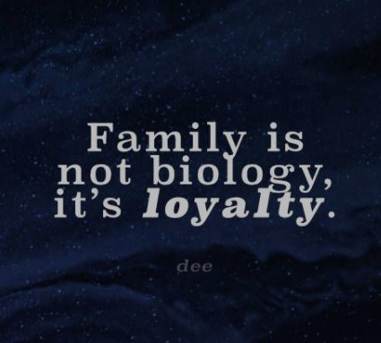 Loyalty Quotes About Family