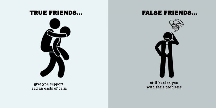 Good and friends differences