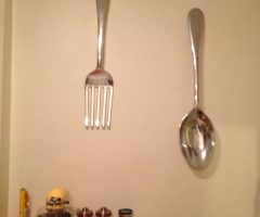 Big Spoon and Fork Decors