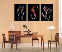 3 Piece Abstract Wall Art