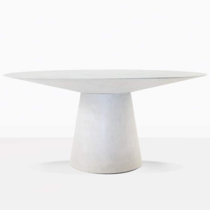 Holly Outdoor Concrete Dining Table Grey Design Warehouse Nz