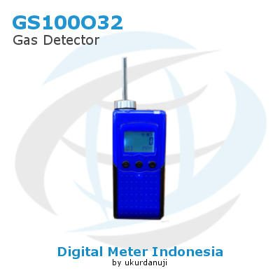 Portable Gas Test Meter Seri GS100O32