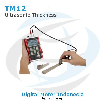 Ultrasonic Thickness Gauge TMTECK TM12