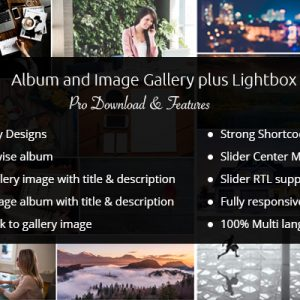 JUAL Album and Image Gallery Plus Lightbox Pro By WpOnlineSupport