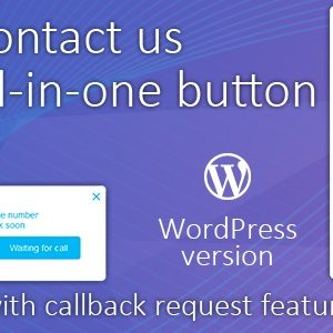 JUAL All in One Support Button + Callback Request. WhatsApp