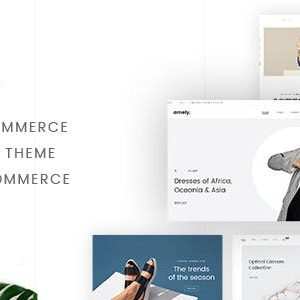 JUAL Amely - Fashion Shop WordPress Theme for WooCommerce