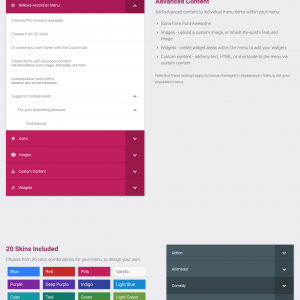 JUAL Bellows Pro - WP Accordion Menu from the makers of UberMenu (Seven Spark)