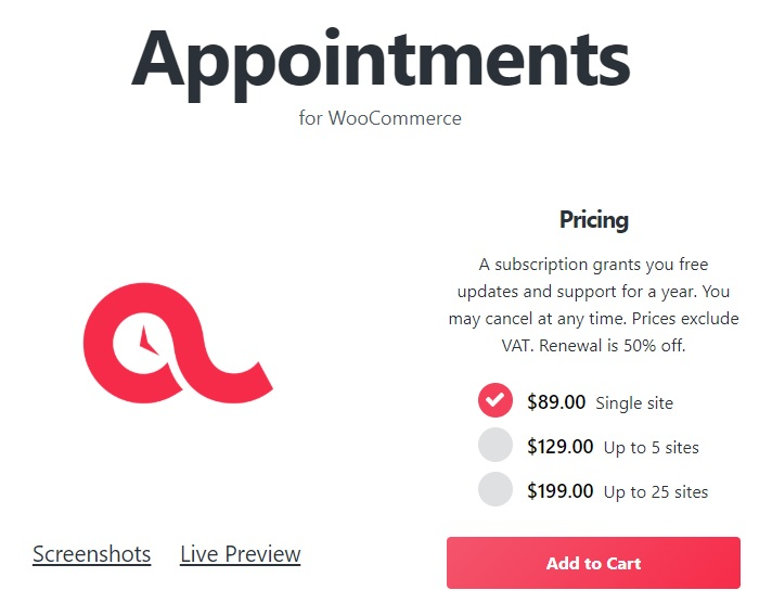 JUAL BookingWP WooCommerce Appointments