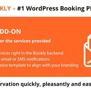 JUAL Bookly Invoices (Add-on)