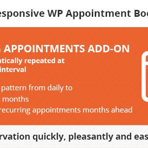JUAL Bookly Recurring Appointments (Add-on)