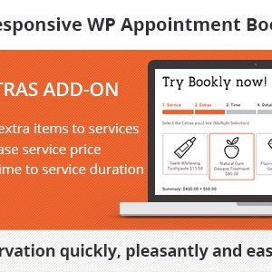JUAL Bookly Service Extras (Add-on)
