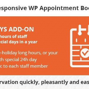 JUAL Bookly Special Days (Add-on)