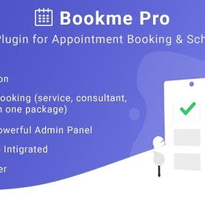 JUAL Bookme Pro - WordPress Appointment Booking and Scheduling Software