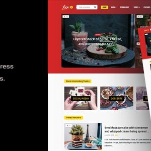 JUAL Bouplay WP - A WordPress Theme for Bloggers