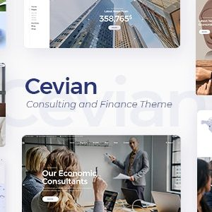 JUAL Cevian - Consulting and Finance Theme