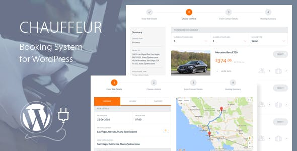 JUAL Chauffeur Booking System for WordPress