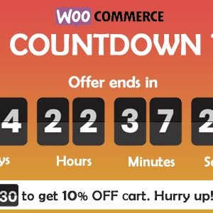 JUAL Checkout Countdown - Sales Countdown Timer for WooCommerce and WordPress