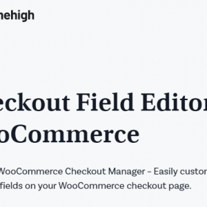 JUAL Checkout Field Editor for WooCommerce Pro By ThemeHigh