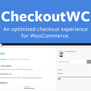 JUAL CheckoutWC - Optimized Checkout Pages for WooCommerce