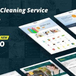 JUAL Cleanco - Cleaning Service Company WordPress Theme