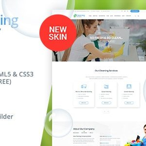 JUAL Cleaning Services WordPress Theme + RTL