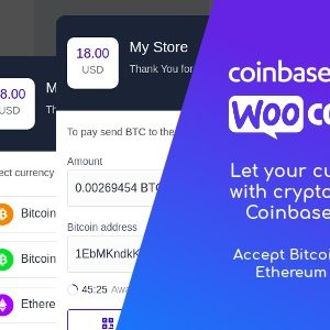 JUAL Coinbase Commerce for WooCommerce
