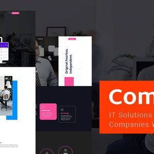 JUAL Comdigex - IT Solutions and Services Company WP Theme