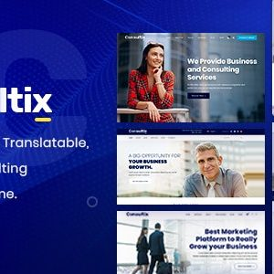 JUAL Consultix - Business Consulting WordPress Theme