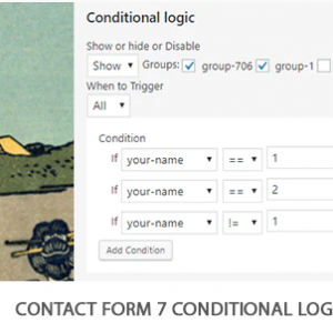 JUAL Contact Form 7 Conditional Logic