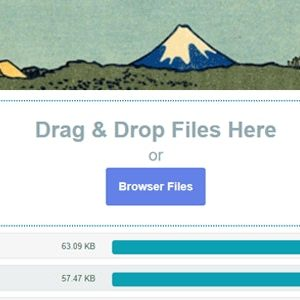 JUAL Contact Form 7 Drag and Drop FIles Upload - Multiple Files Upload