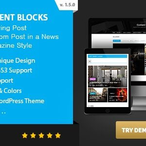 JUAL Content Blocks Layout For WPBakery Page Builder - News & Magazine Style