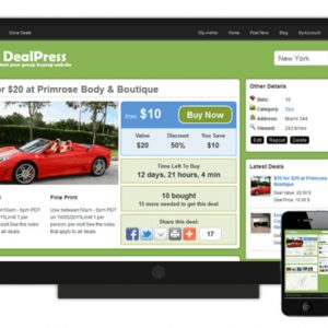 JUAL DealPress Group Buying Theme by SiteMile