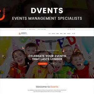 JUAL Dvents - Events Management Companies and Agencies WordPress Theme