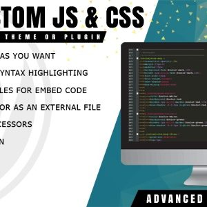 JUAL Easy Custom JS and CSS - Extra Customization for WordPress