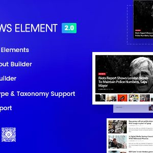 JUAL Epic News Elements - Add Ons for Elementor & WPBakery Page Builder