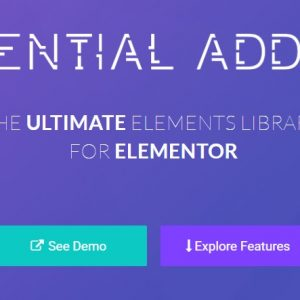 JUAL Essential Addons - Most Popular Elements Library For Elementor