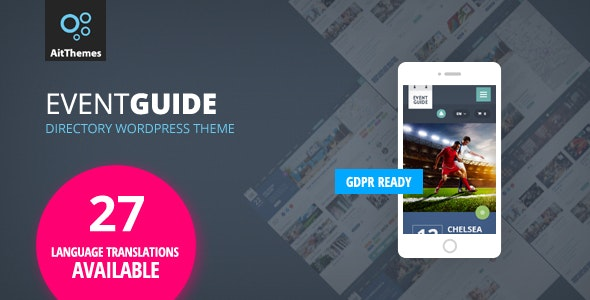 JUAL Event Guide - Directory Listing WordPress Theme